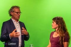 Interview Alex Wassyl im Studio Landau