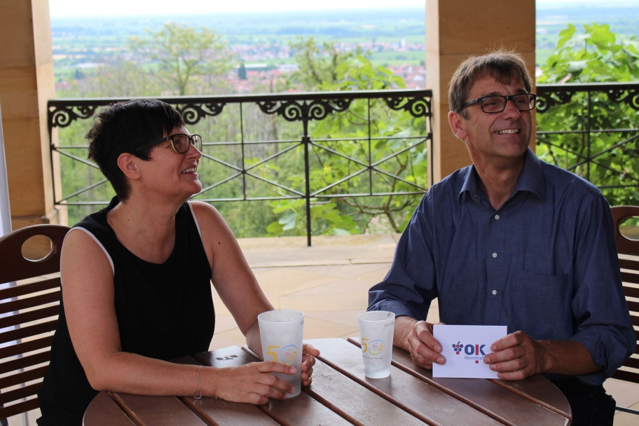 Thomas Hoffmann im Interview mit Christine Schneider