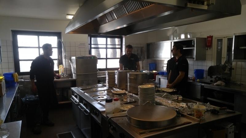 Die Küche ist bereit