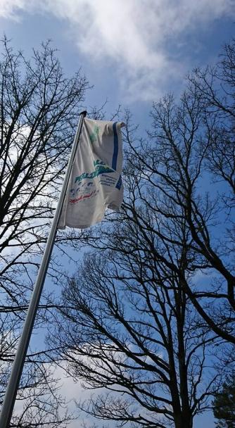 Die Fahne ist gehisst!