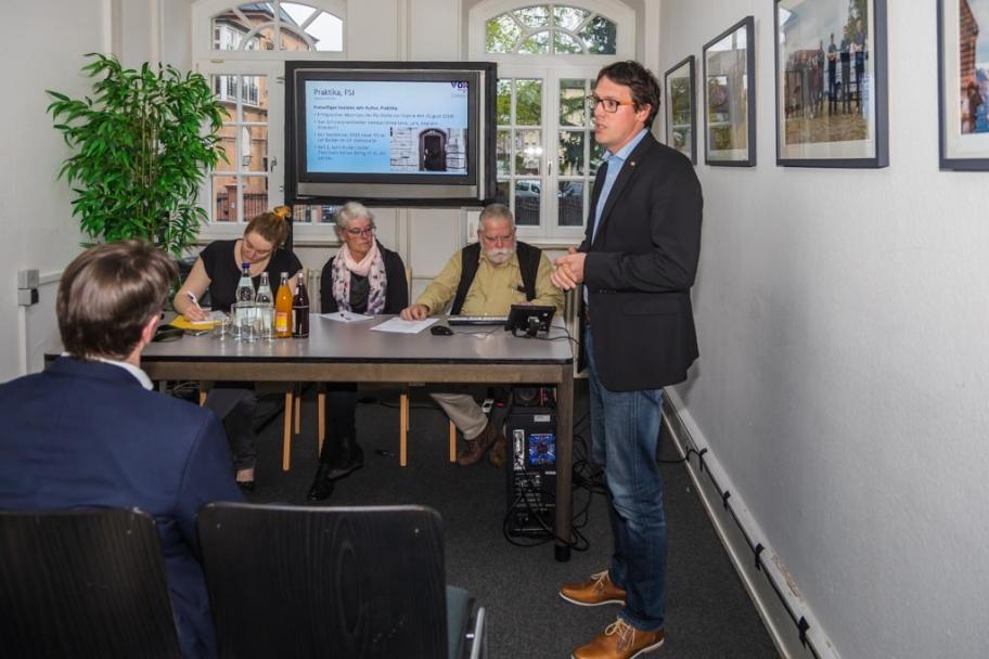Mitgliederversammlung 2019 Studio Landau